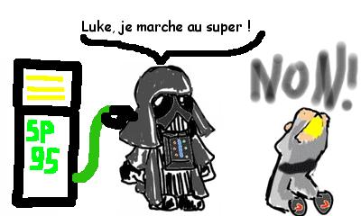 Votre comique Luke-super